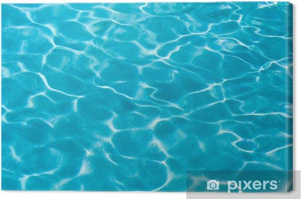 Tableau sur toile Sea water - Mer et océan