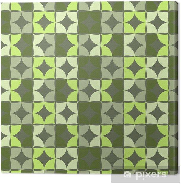 Tableau sur toile Seamless pattern géométrique, vecteur de fond. - Arrière plans
