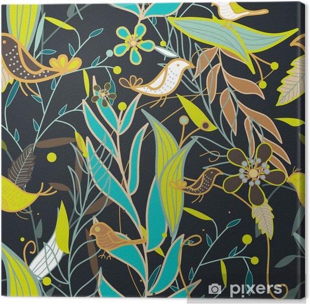 Tableau sur toile Seamless texture - Arrière plans