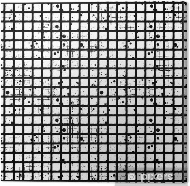 tableau sur toile seamless vecteur de damier g om trique fond noir et blanc creative avec des. Black Bedroom Furniture Sets. Home Design Ideas
