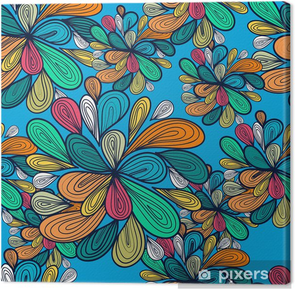 Tableau sur toile Seamless vector abstract - Arrière plans