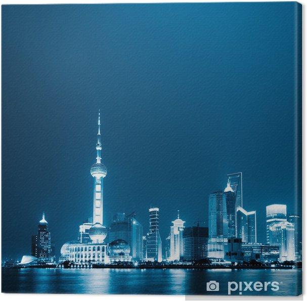 Tableau sur toile Shanghai, en Chine. - Thèmes