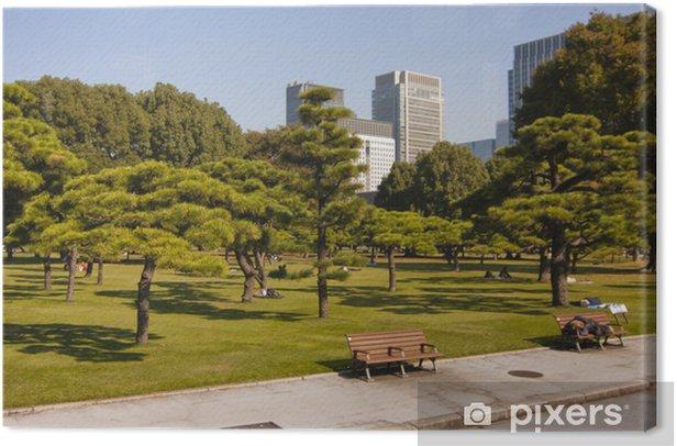 Tableau sur toile Siesta au Japon - Asie