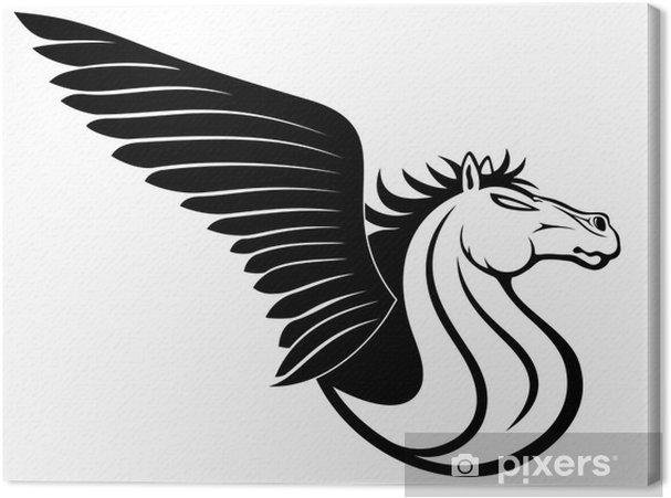 Tableau sur toile Signe Pegasus - Signes et symboles