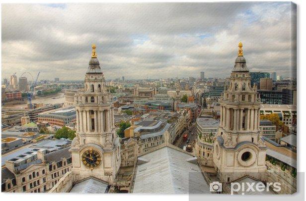 Tableau sur toile Skyline de Londres. - Thèmes