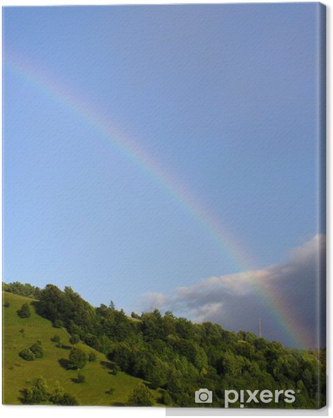 Tableau sur toile Somewhere Over The Rainbow - Ciel