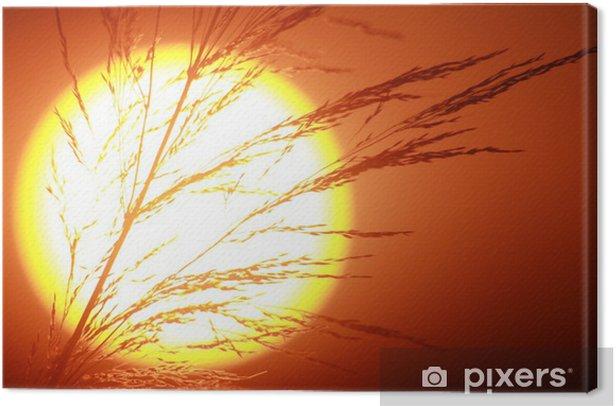 Tableau sur toile Sonne planète - Ciel