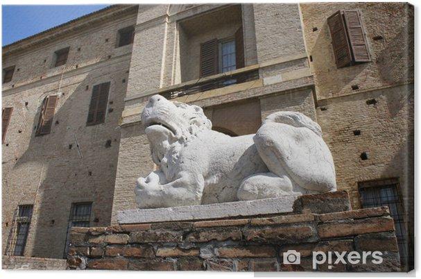 Tableau sur toile Soragna Fortress - Monuments