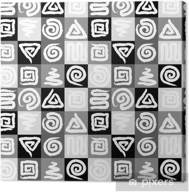 Tableau sur toile Spirale texture homogène - Autres sentiments