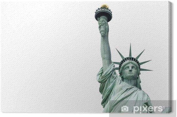 Tableau sur toile Statue de la Liberté à New York - Sticker mural
