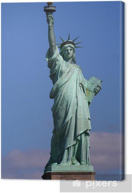 Tableau sur toile Statue de la Liberté sur le stand - Amérique