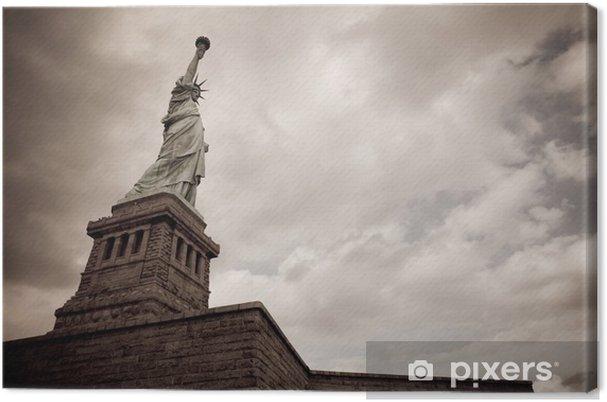 Tableau sur toile Statue of liberte - Amérique