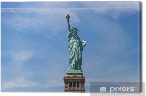 Tableau sur toile Statue of liberte - Villes américaines
