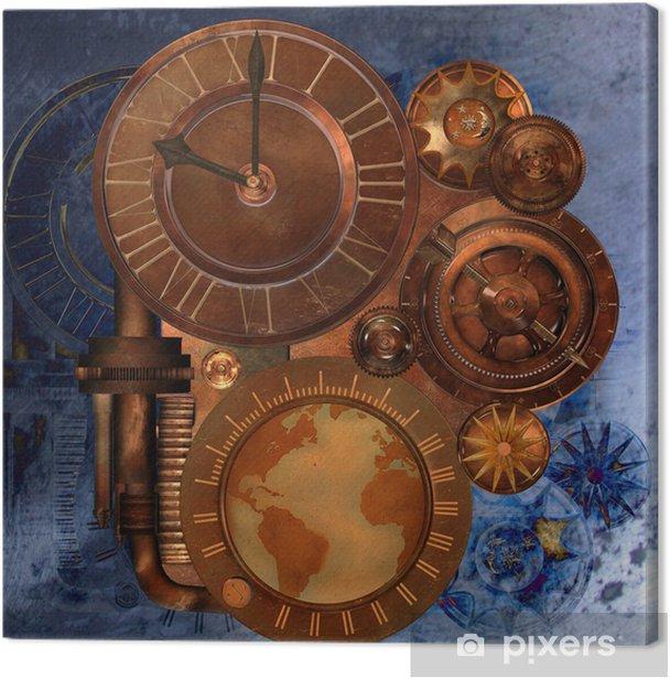 Tableau sur toile Steampunk - Steampunk