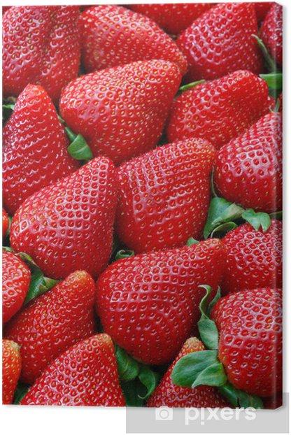 Tableau sur toile Strawberries - Thèmes