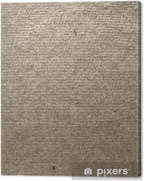 Tableau sur toile Structure de papier brouillon - Textures