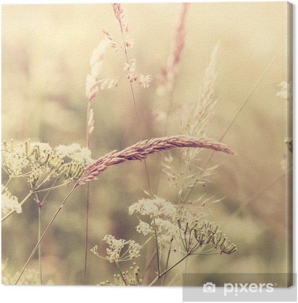 Tableau sur toile Summer meadow - Styles