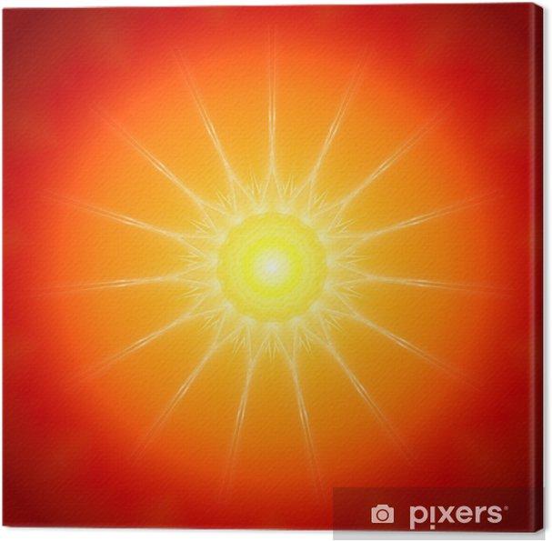 Tableau sur toile Sun Mandala - Religion