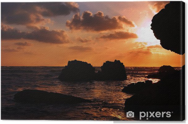 Tableau sur toile Sunset5 - Moyen Orient