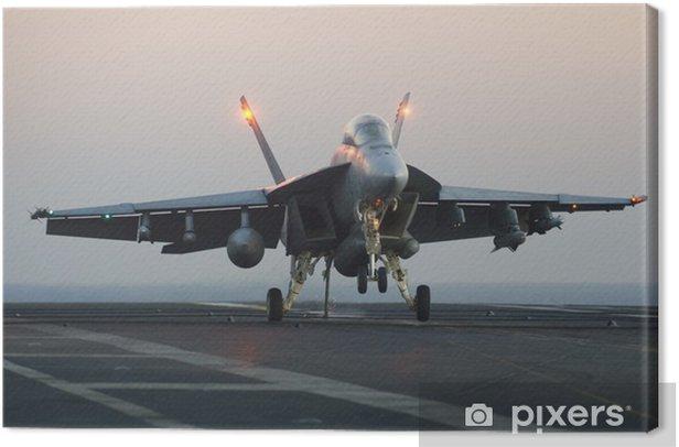 Tableau sur toile Super Hornet - Dans les airs