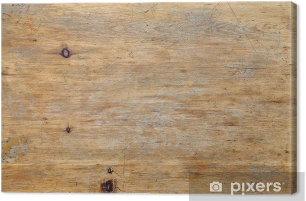 Tableau sur toile Surface de la table - Thèmes