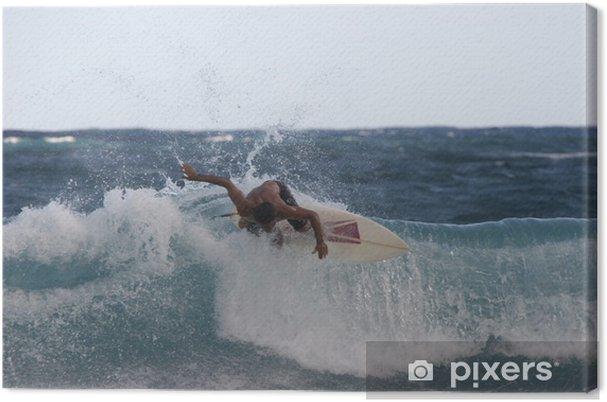 Tableau sur toile Surfeur 2 - Sports aquatiques