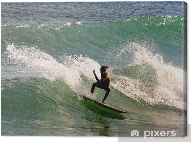Tableau sur toile Surfista 2 - Vacances