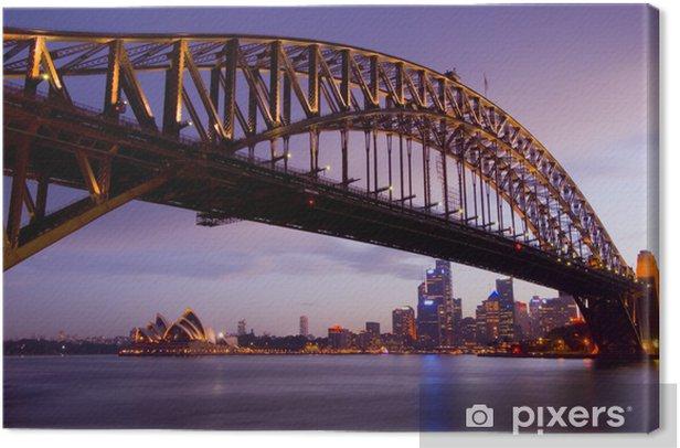 Tableau sur toile Sydney au crépuscule - Océanie