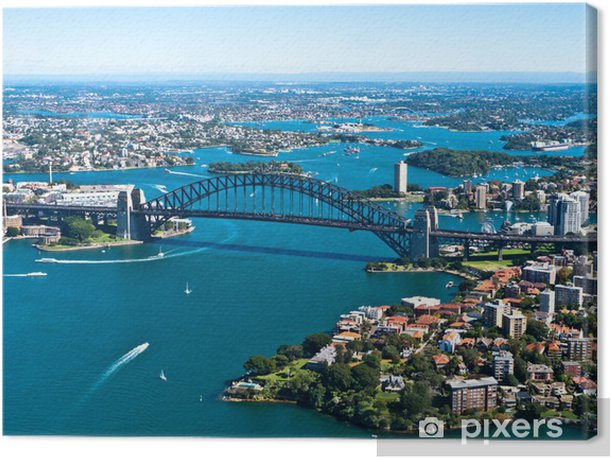Tableau sur toile Sydney harbour bridge - Thèmes