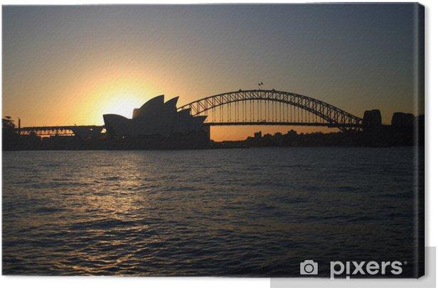 Tableau sur toile Sydney Harbour .. - Thèmes