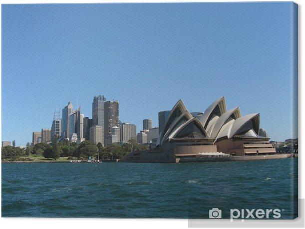 Tableau sur toile Sydney panorama - Thèmes