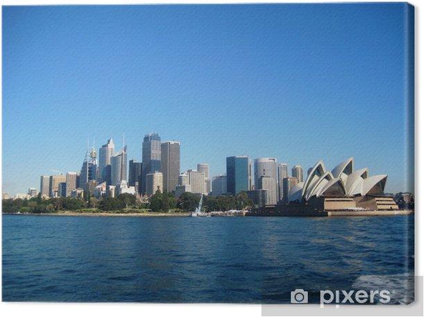 Tableau sur toile Sydney - Thèmes