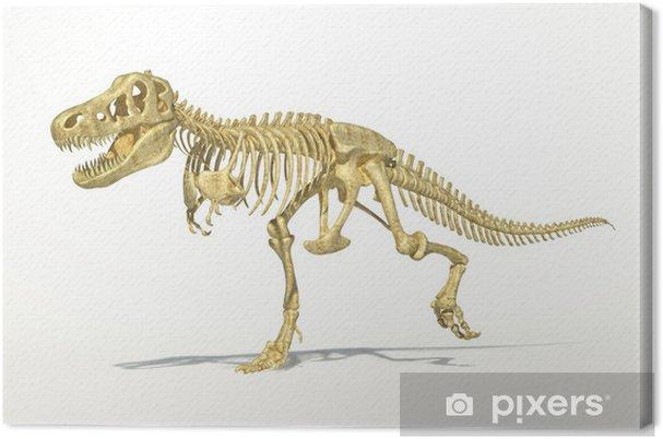 Tableau sur toile T-Rex de dinosaure squelette complet, photo-réaliste, scientifiquement co - Autres Autres