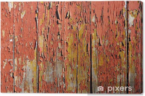 Tableau sur toile Table en bois vieilli - Monuments