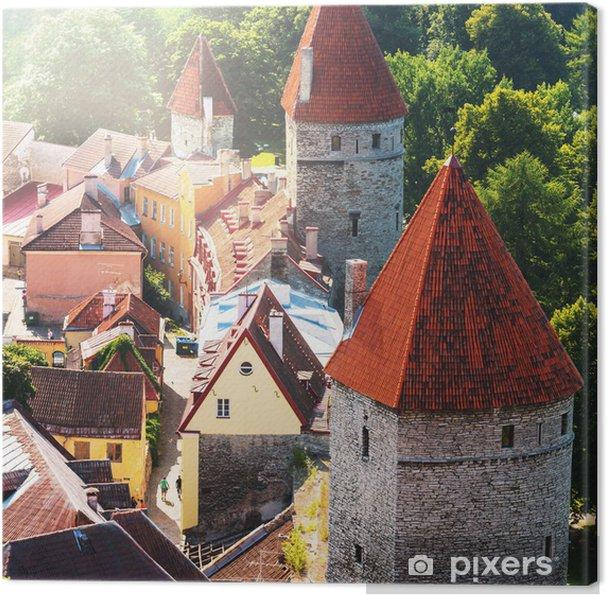 Tableau sur toile Tallinn - Europe