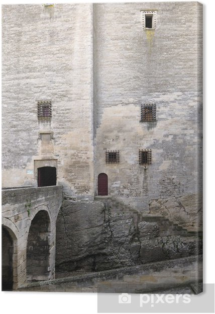Tableau sur toile Tarascon, château, René König - Monuments