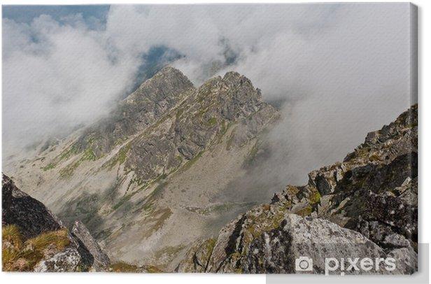 Tableau sur toile Tatra Kościelec - Thèmes