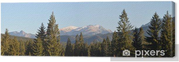 Tableau sur toile Tatry montagnes - Thèmes