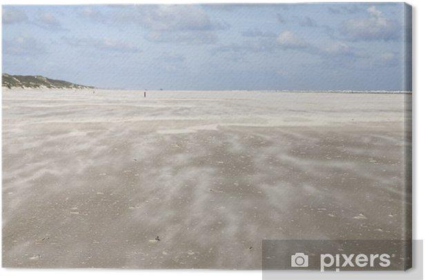 Tableau sur toile Tempête de sable - Eau