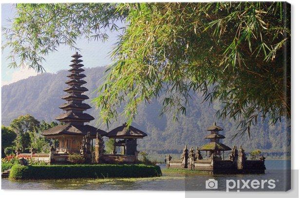 Tableau sur toile Temple de l'eau Bali - Asie