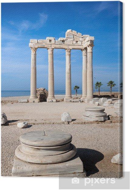 Tableau sur toile Temple de ruines Apollo en Turquie latérale. - Moyen Orient