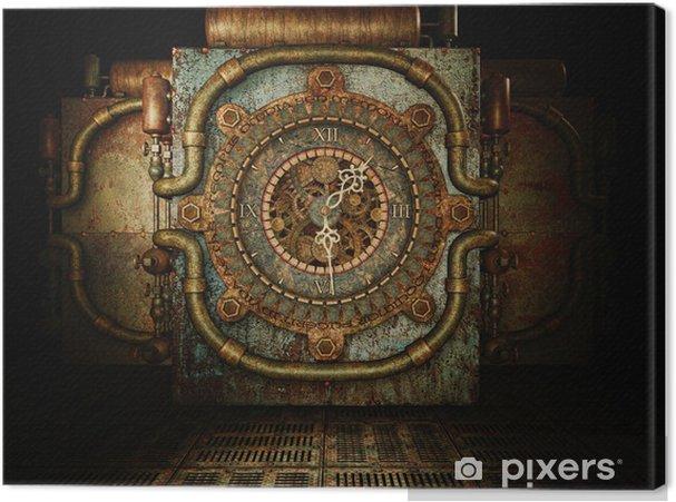 Tableau sur toile Temps de Steampunk • Pixers® - Nous vivons pour ...