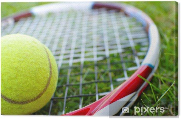 Tableau sur toile Tennis - Thèmes