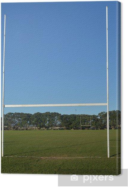 Tableau sur toile Terrain de rugby - Matchs et compétition
