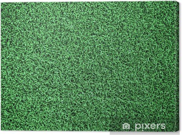 Tableau sur toile Terrain en herbe - Textures