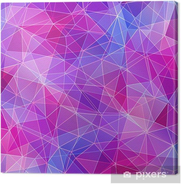 Tableau sur toile Texture de diamant coloré, abstrait. - Ressources graphiques