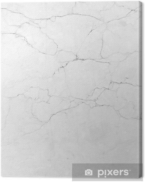 Tableau sur toile Texture de marbre blanc fond. (High.Res.) - iStaging