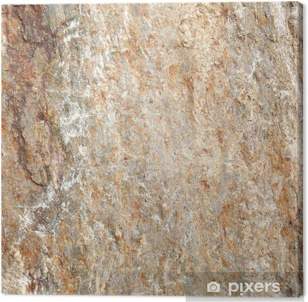Tableau sur toile Texture de pierre et le fond - Matières premières