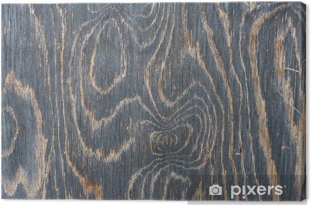 Tableau sur toile Texture de planches de bois - Textures