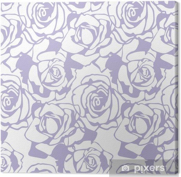 Tableau sur toile Texture vecteur floral - Célébrations